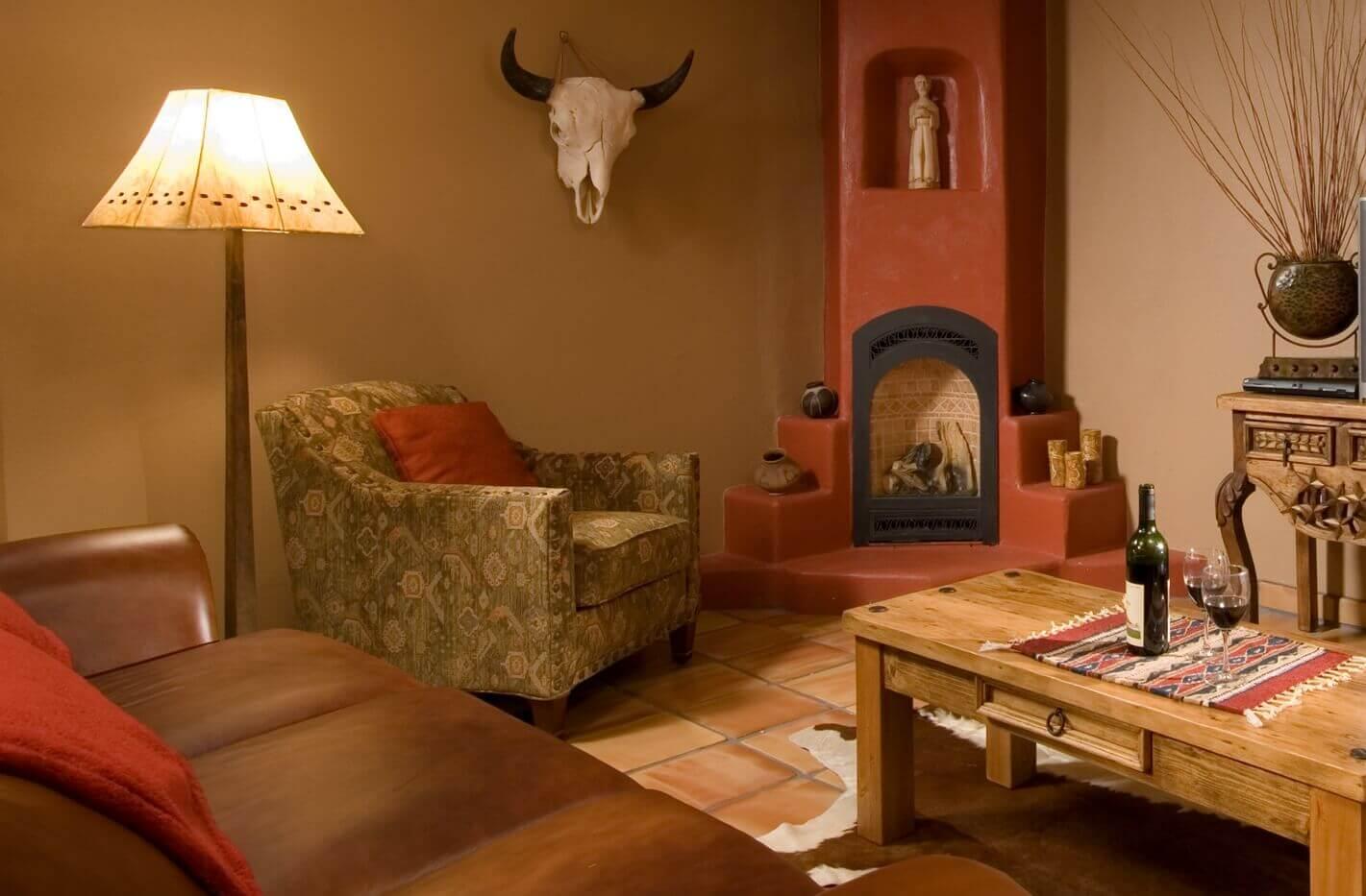 living room inside a room