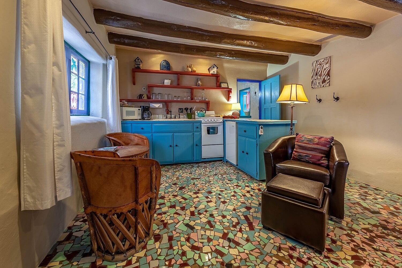 Kitchen in adobe