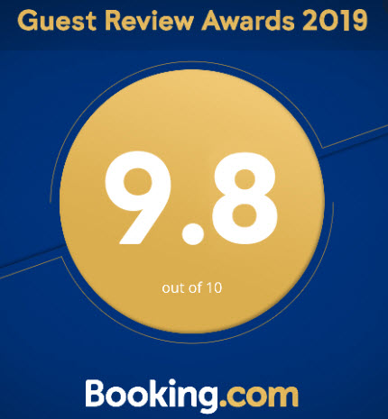 Booking.com Rating for Adobe Pines